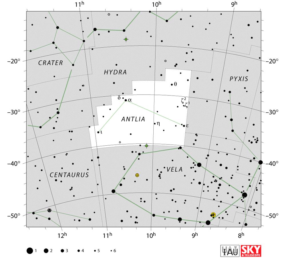 Chòm sao Antlia - / Thiên văn học Đà Nẵng
