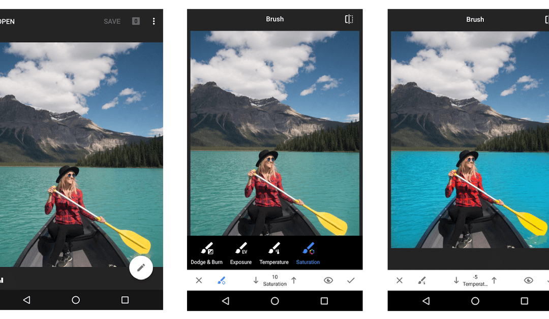 Best Apps for Instagram Business: Snapseed