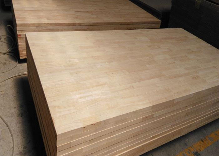 Nguyên Gỗ thiên đường của ván ghép gỗ cao su chất lượng
