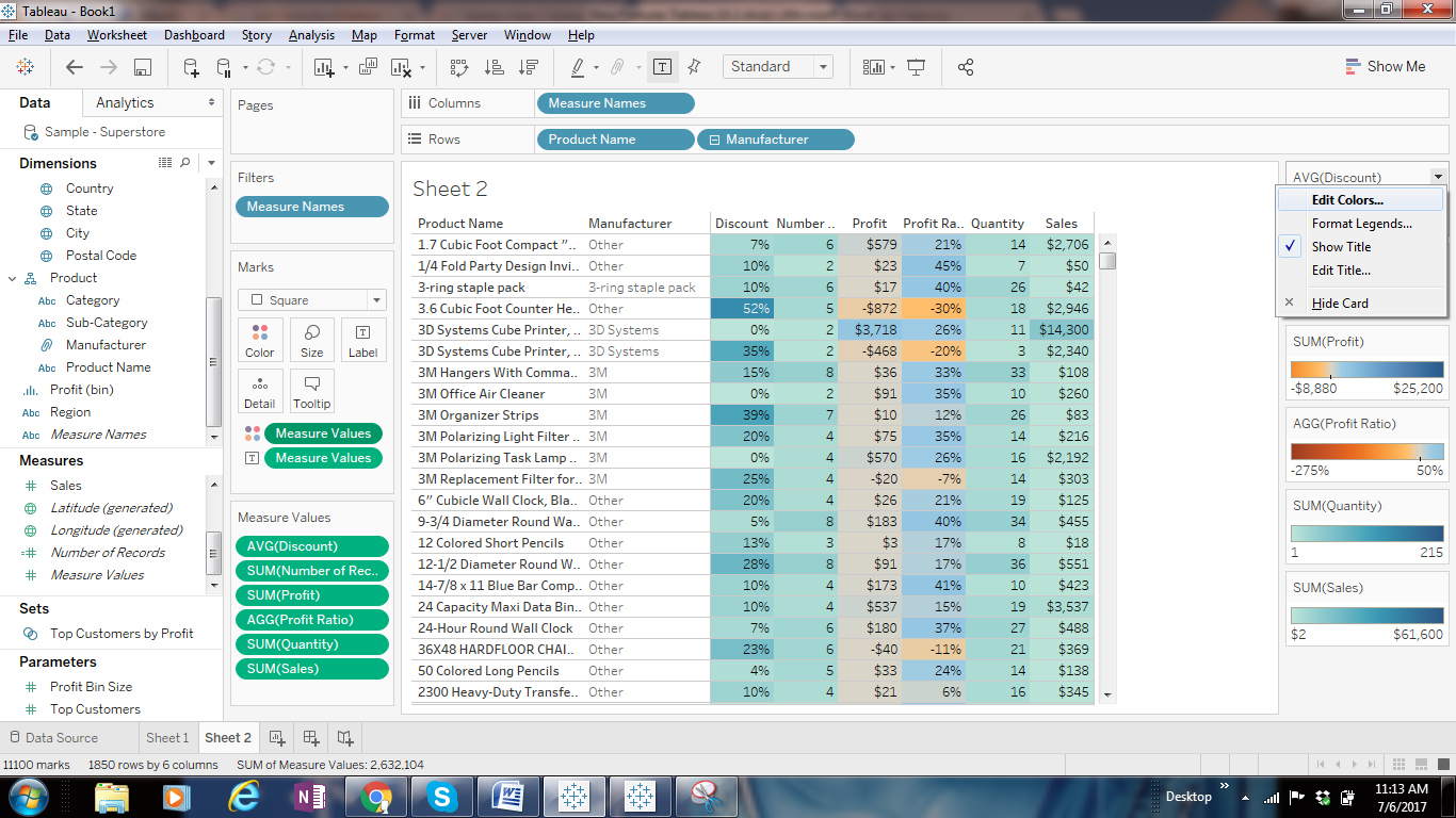 Tableau Features Explanation from Designing views and analyzing data perspective 33