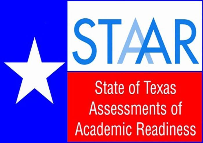 Logo for the State of Texas Assessments of Academic Readiness (STAAR) test