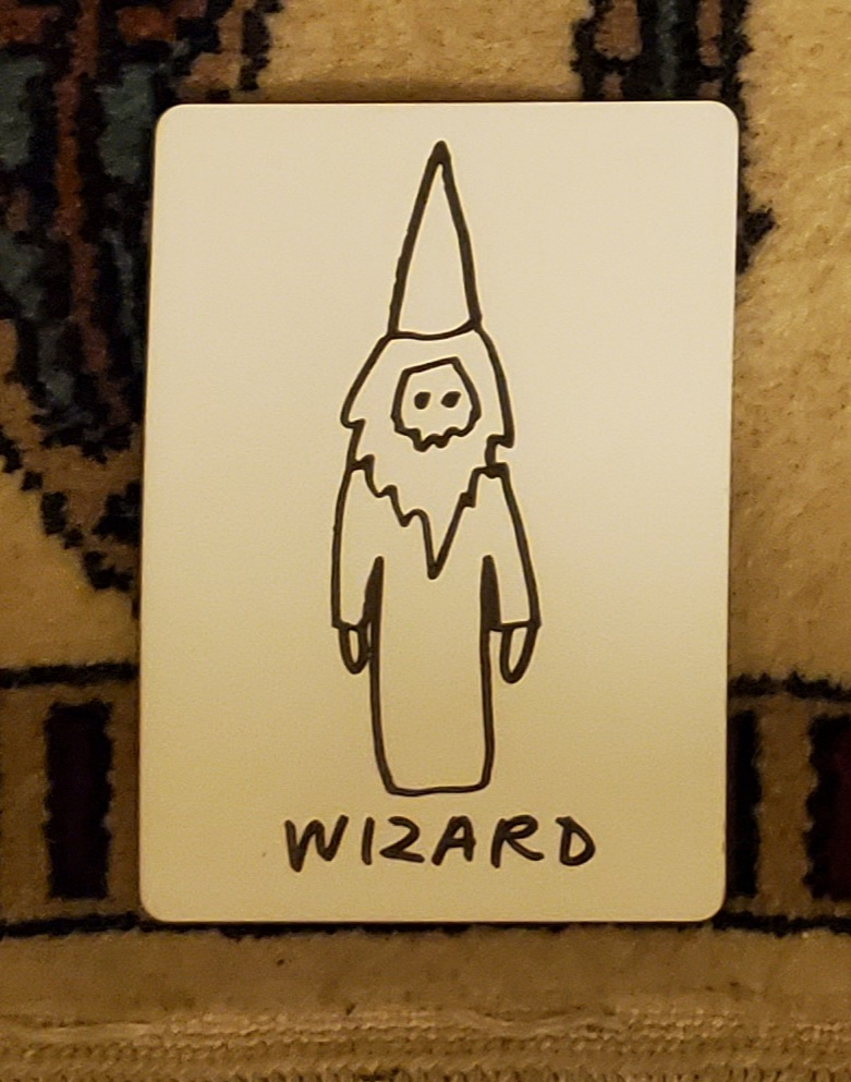 Wizard Tarot Card