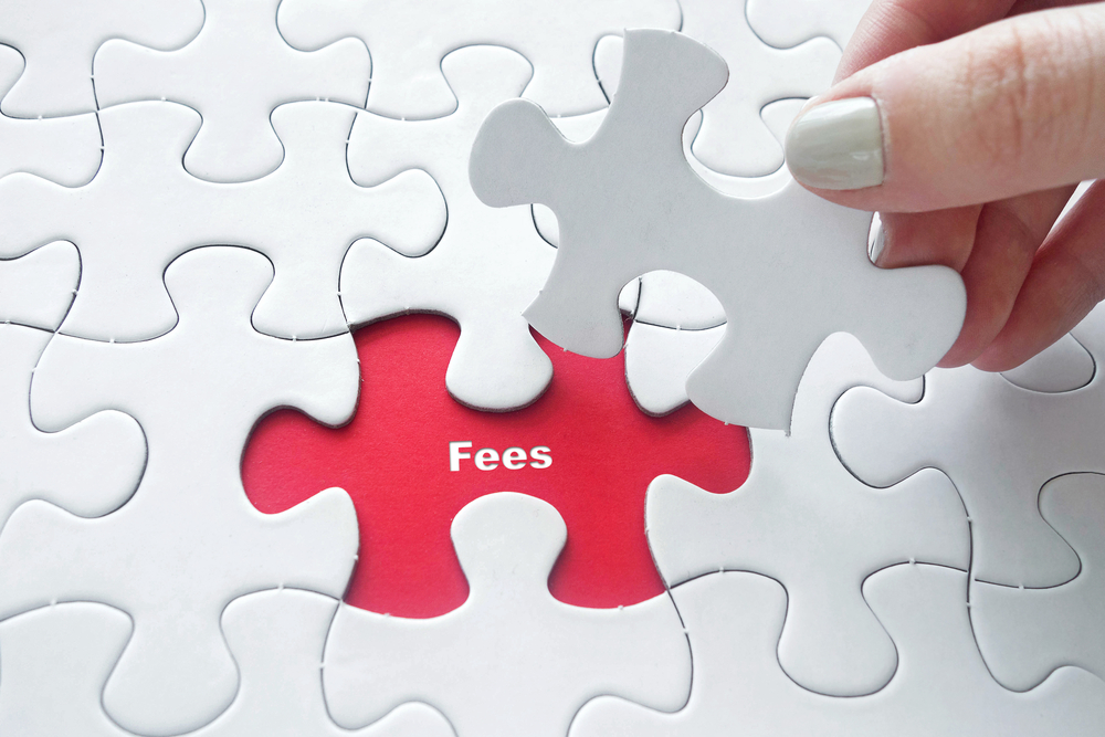 Fees associated with your online store.