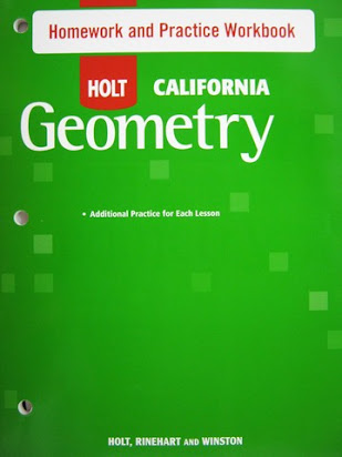 Holt homework and practice workbook answers