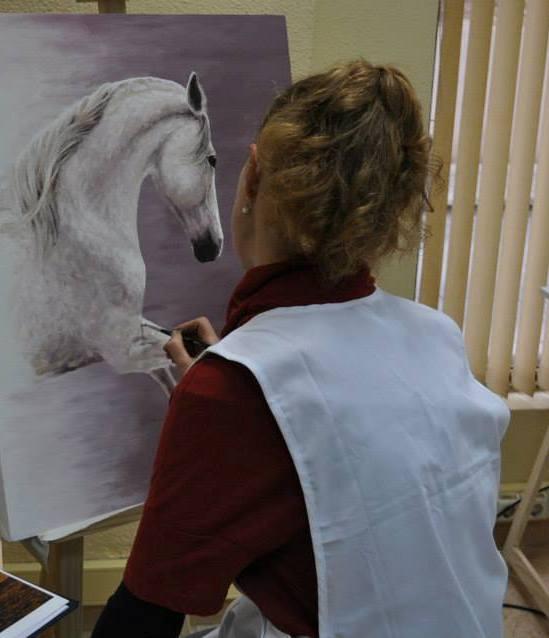 Pintando Cuadro Destello