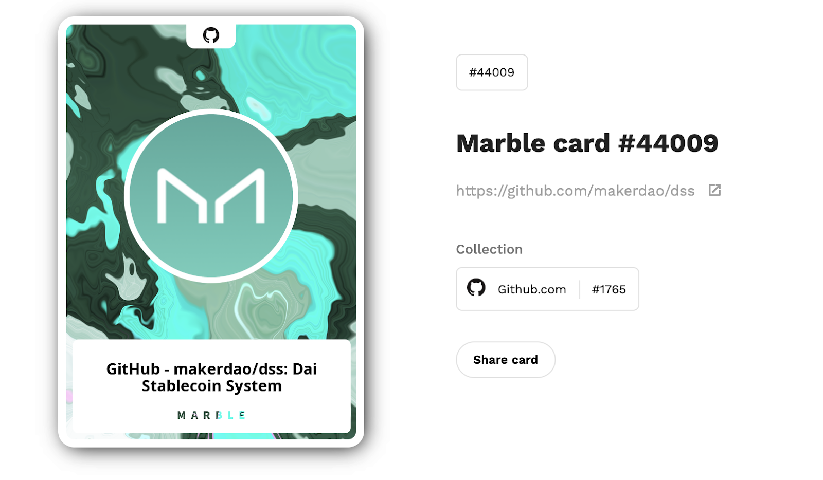 The Dai Gaming Initiative features Marble Cards, a game that will accept Dai in its marketplace.
