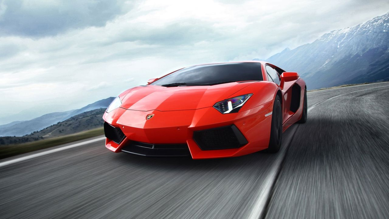 Lamborghini Aventador   351 km/h   Reigning at the top of the speed charts is the Lamborghini Aventador. Priced at Rs 5.01 crore, this supercar takes off from standstill and touches the 100 km/h mark in just 2.8 seconds. (Image Source: Lamborghini)