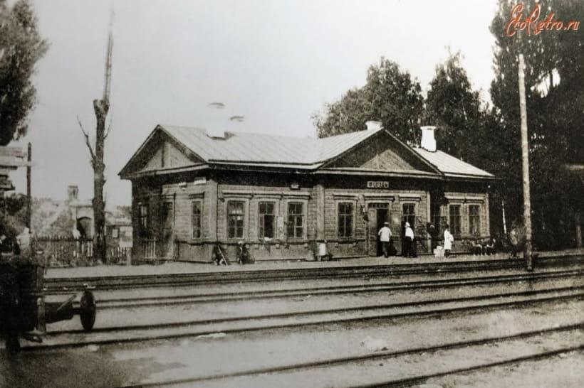 Залізнична станція Шостка