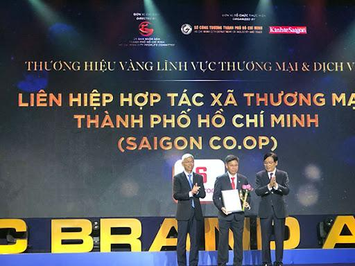 Saigon Co.op là Thương hiệu Vàng của Thành phố Hồ Chí Minh