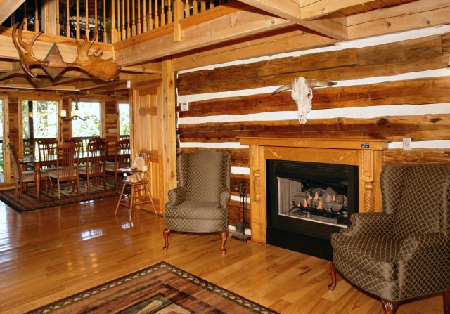 Walk in the Clouds cabin - Diamond Mountain Rentals