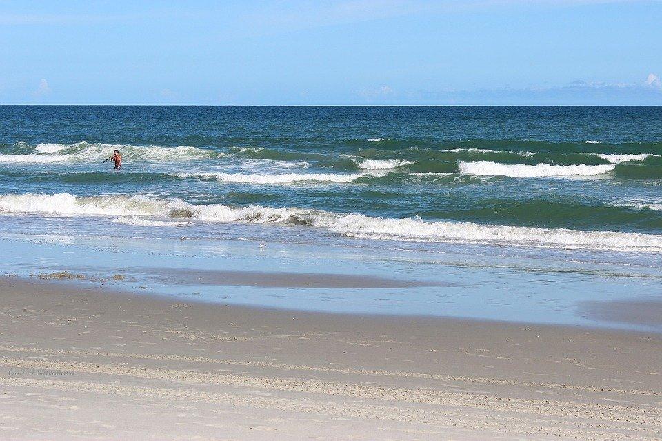 Myrtle Beach, South Carolina, Beach, Waves, Ocean