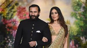 Saif Ali khan with Kareena Kapoor