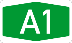 Autokinetodromos A1 number.svg