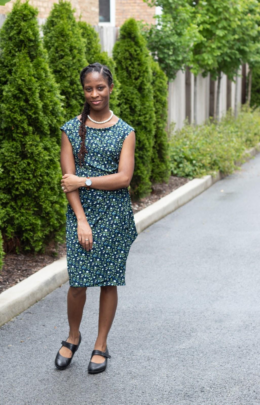 Lark & Ro Wrap Dress Patience & Pearls
