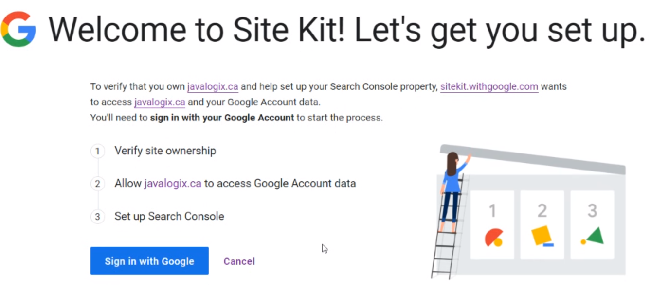 How To Connect Your WordPress Website to Google Using Site Kit by Google