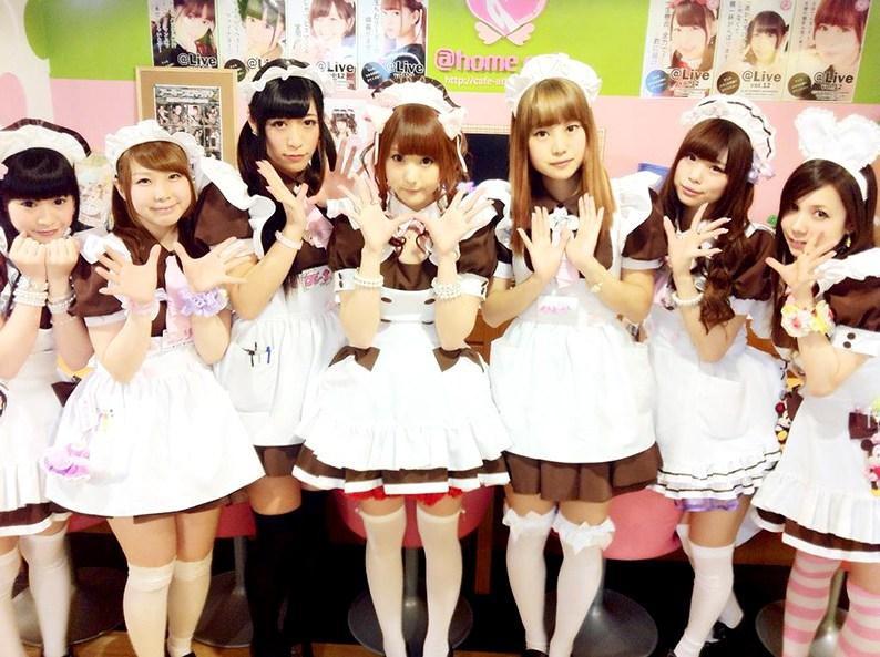 Maid café in Akihabara