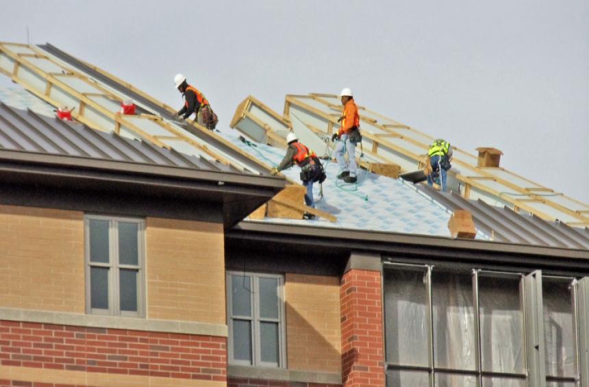 Chi phí nhân công phụ thuộc vào độ phức tạp của công trình