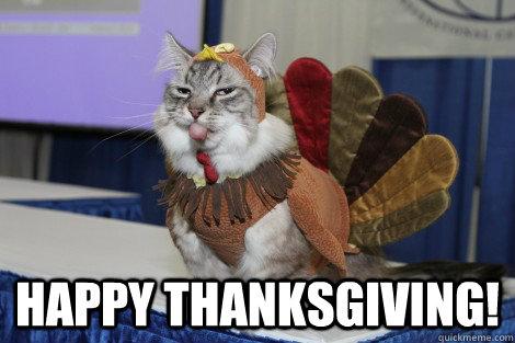 Memes Thanksgiving
