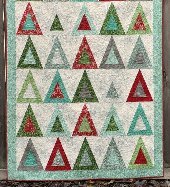 Evergreen Tree Quilt - Pattern by craftsy.com Member