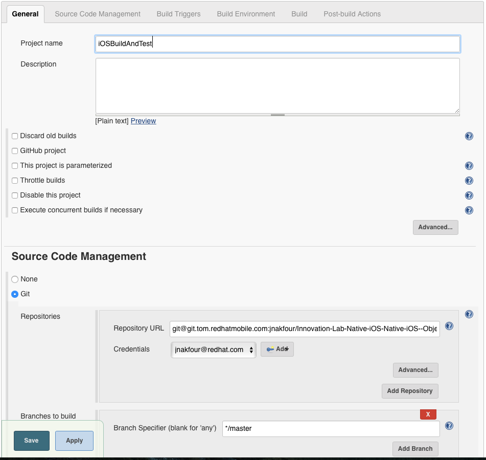A step by step tutorial for continuous integration with jenkins screen shot 2016 08 12 at 103254 amg xflitez Gallery