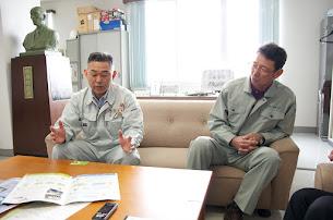 右:近江博信 会計担当理事