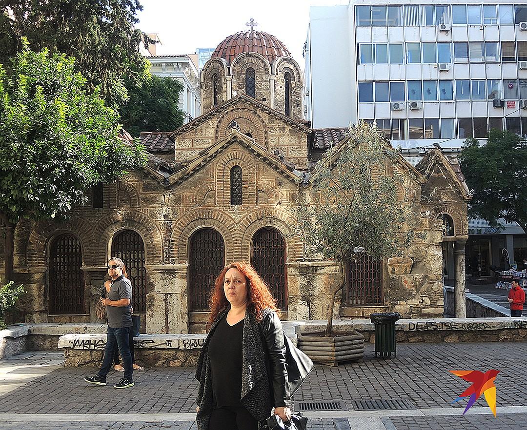 Церковь в центре Афин. Фото: Дарья АСЛАМОВА