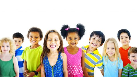 Group of Smiling Kids - Types of Dentists