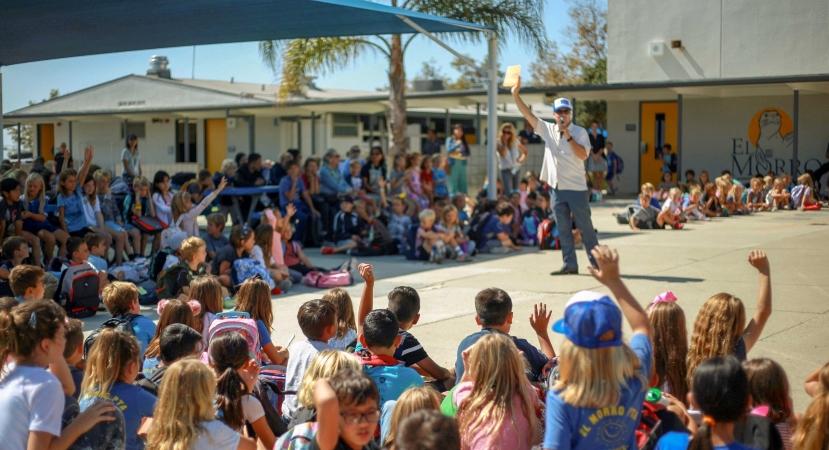 El Morro elementary in Laguna Beach, CA