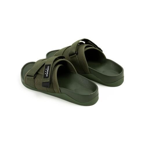 """CARNIVAL AVENTURER SANDALS OLIVE"" รองเท้าแตะ Outdoor Style 03"