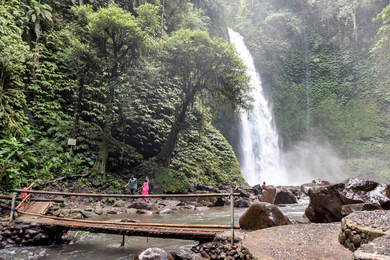 Best waterfall in Bali