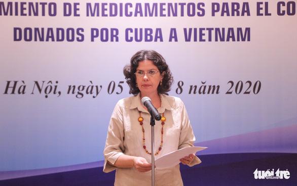 Cuba tặng thuốc, cử chuyên gia sang tận Đà Nẵng hỗ trợ chống dịch - Ảnh 2