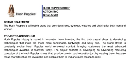 Hush Puppies Brand Statement and Background