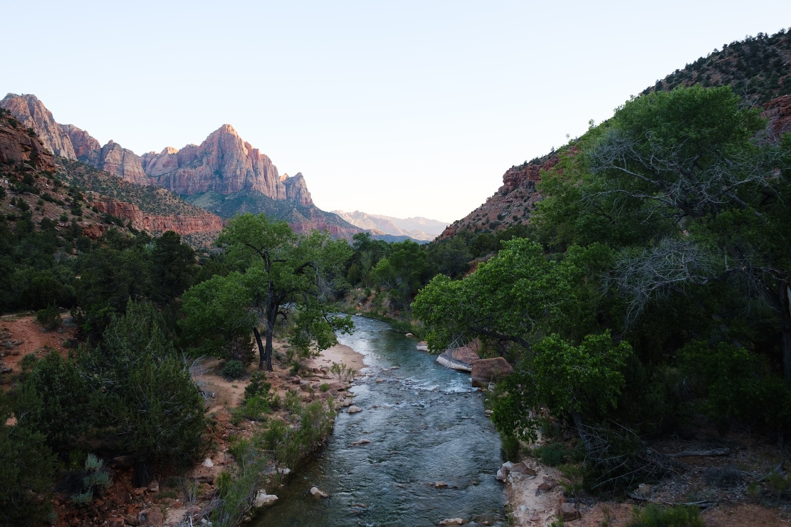 Zion national park in Southern Utah