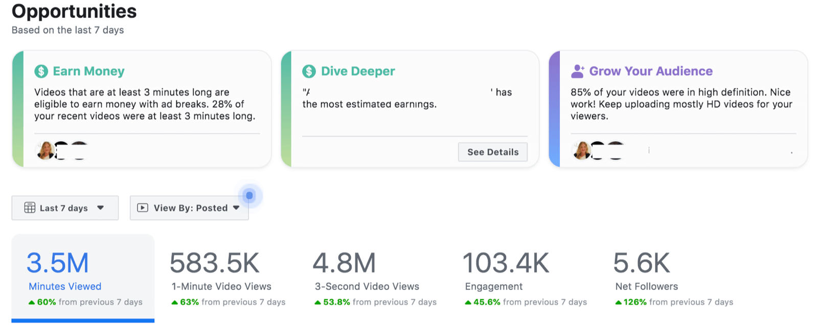 Phân tích doanh thu từ facebook Ad Break