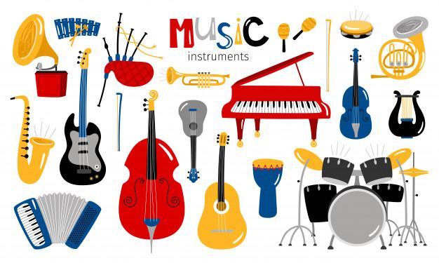 Instrumenty Muzyczne   Pobierz Darmowe Wektory, Zdjęcia i pliki PSD