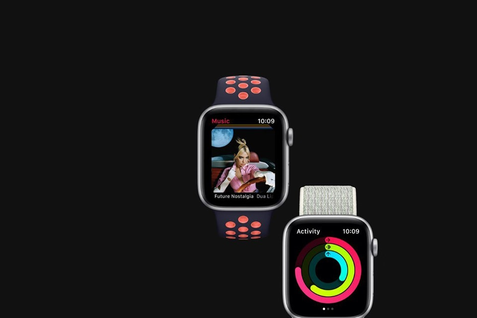 nghe nhạc Apple Watch Series 6