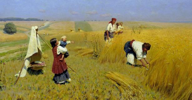 Рабський досвід хліборобства в історії України.