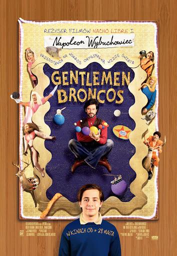 Polski plakat filmu 'Gentlemen Broncos'