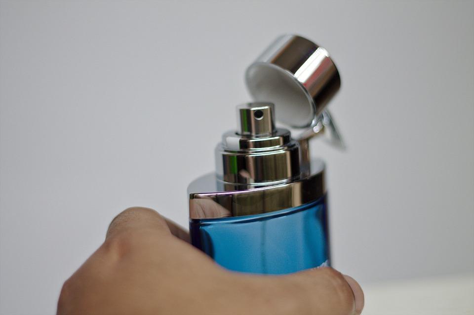 Recogiendo El Aroma, Perfume, Mano, Fragancia