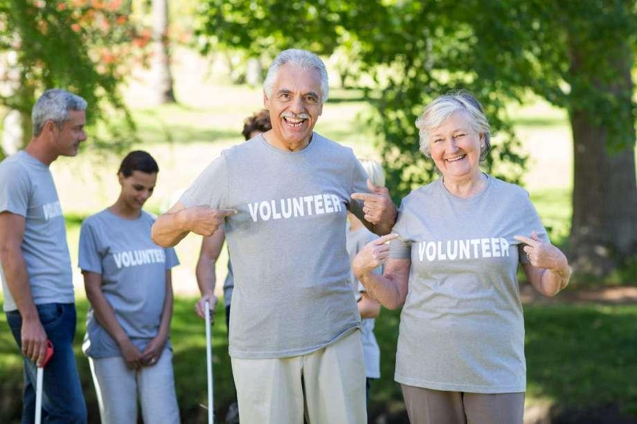 Image result for seniors volunteering