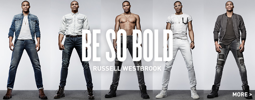 Russell Westbrook true religion Collaboration