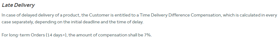 [Alt Tag: If your deadline exceeds 14 days, the refund won't exceed 7% Source: boomessays.com]