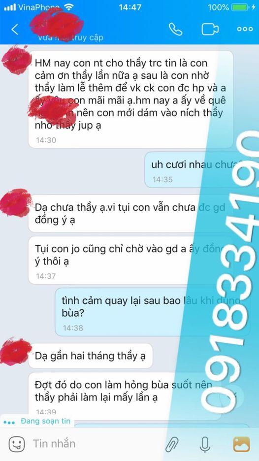 thầy bùa yêu ở Lâm đồng