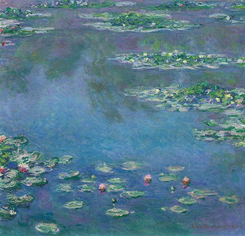 Claude Monet (1840-1926)  Water Lilies