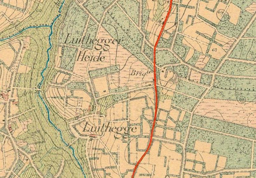 Steenbakkerij Luythegge - 1904