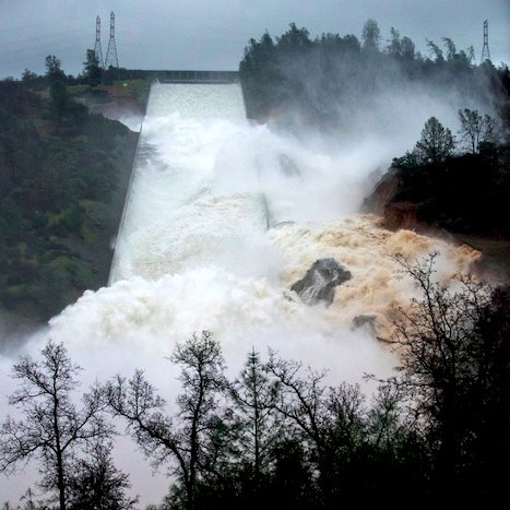 Billedresultat for oroville dam
