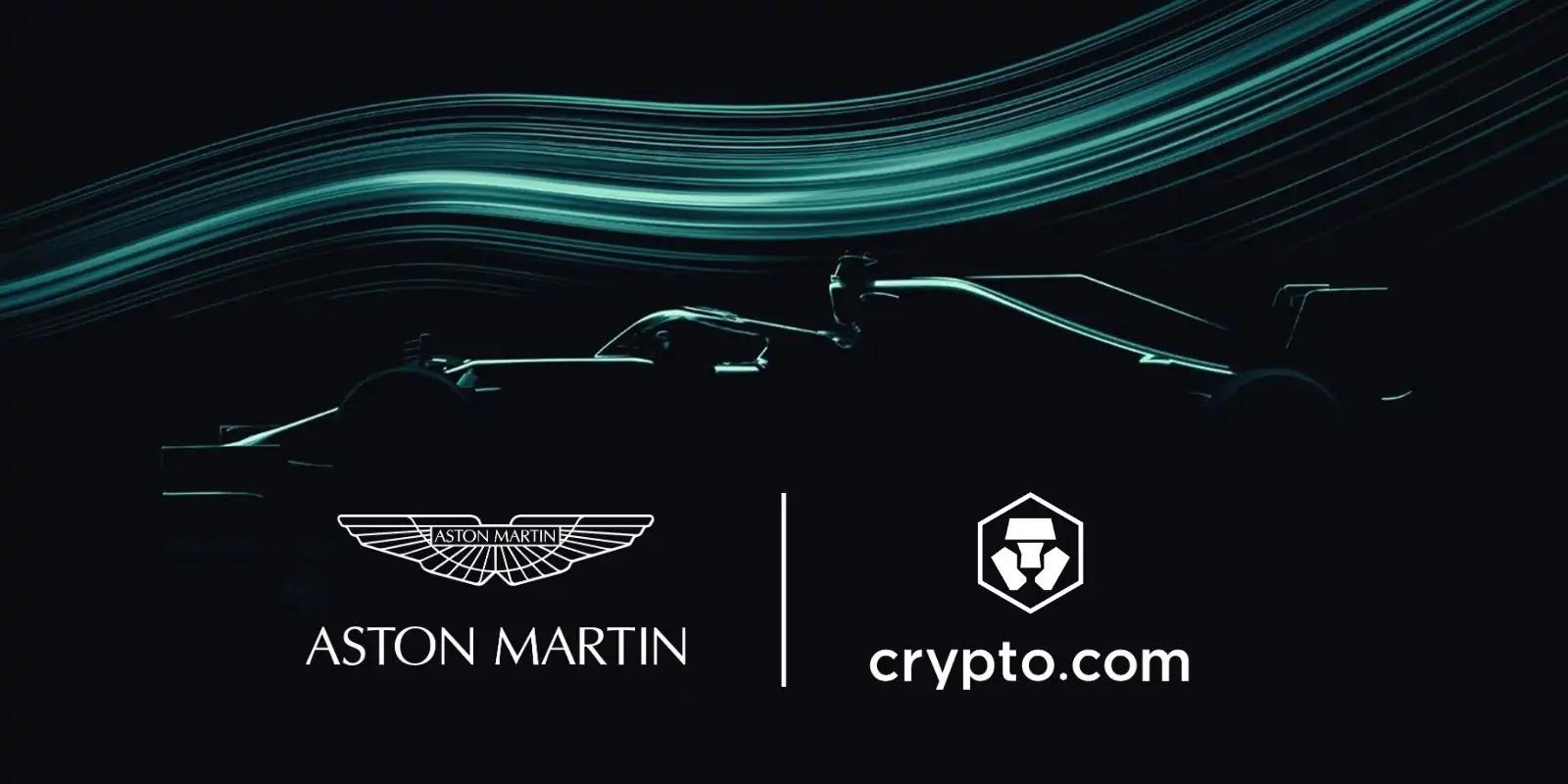 Aston Martin et Crypto.com signent un partenariat sur plusieurs années