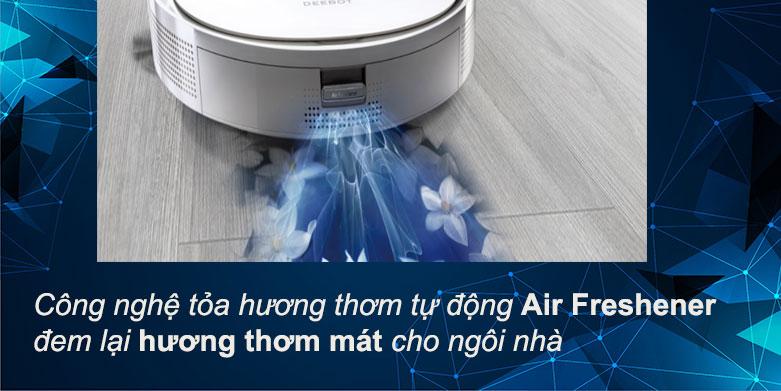 Robot hút bụi lau nhà Ecovacs Deebot T9 |  Công nghệ tỏa hương thơm tự động