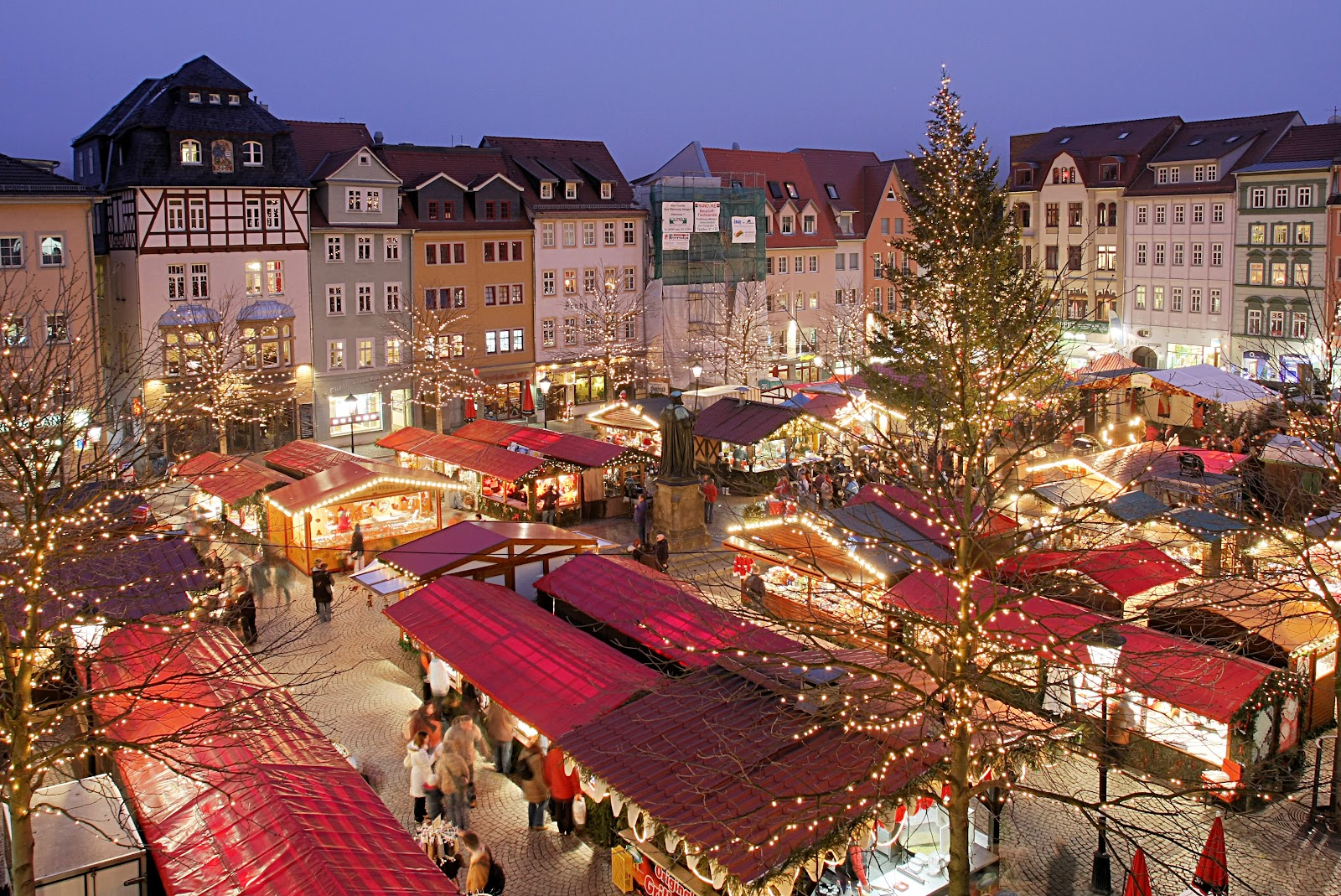 Christmas market in Jena,