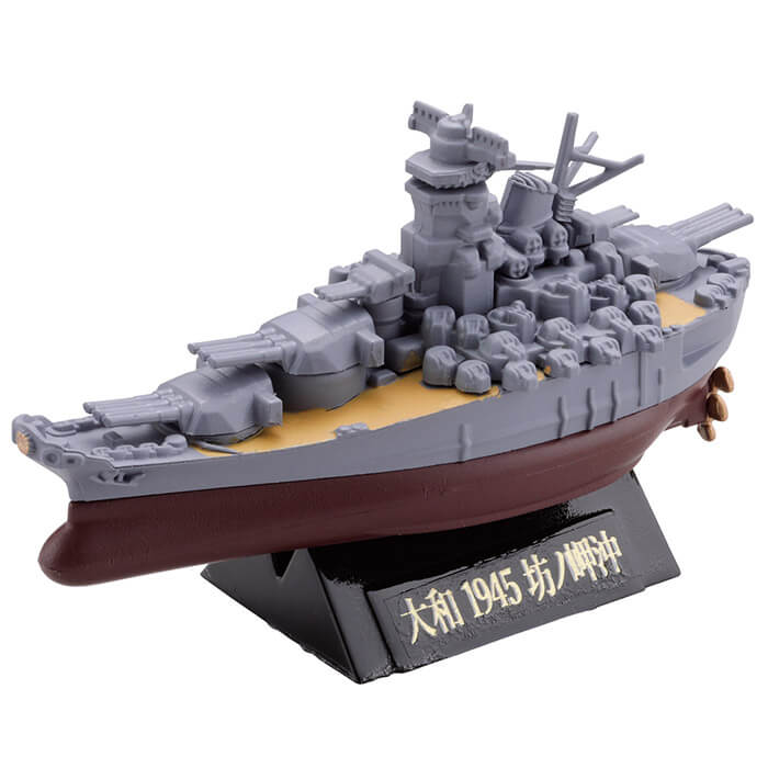 KAIYODO / 海洋堂 / 盒玩 / miniQ / 世界船艦 第四彈 / 聯合艦隊旗艦 大和・三笠篇 / 全6種 一中盒8入販售*8